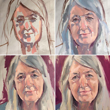 Introduction image for 1-2-1 Online | Jane French Oil Painting sessions - Portraits