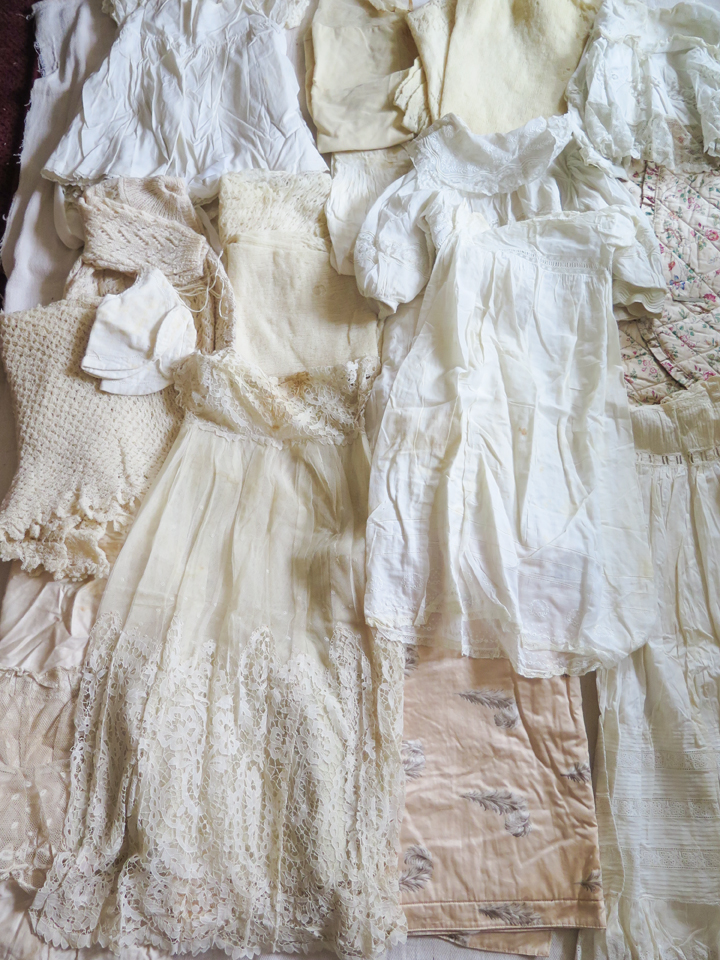 Jacqui Gallon - archive clothing for Material Memories project
