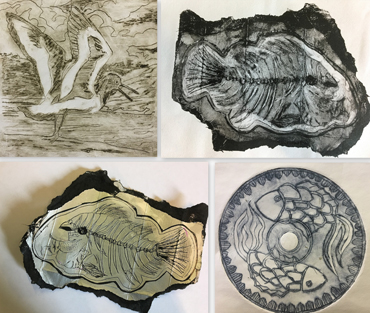Workshop | Drypoint Etching - Jo Sheppard