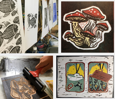 Workshop | Lino Printing - Jo Sheppard