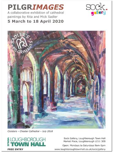 Pilgrimages exhibition poster