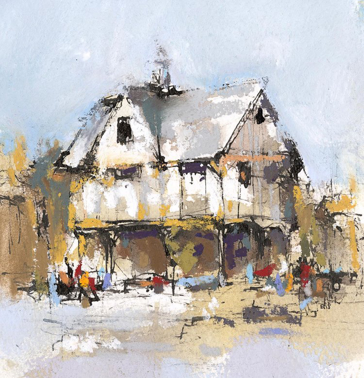 Emma Fitzpatrick, 'The Old Grammar School, Market Harborough'
