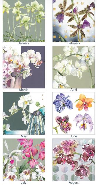 Vivienne Cawson calendar images