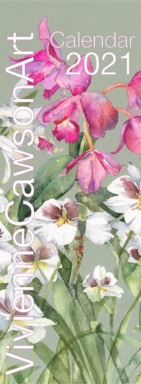 Vivienne Cawson, Calendar 2021 front