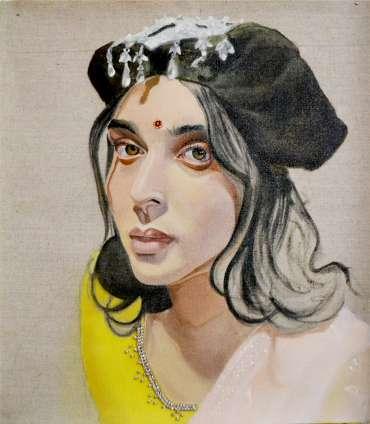 Thumbnail image of 50 | Jemisha Maadhavji | Bindiful - LSA Annual Exhibition 2021 | Catalogue M - R