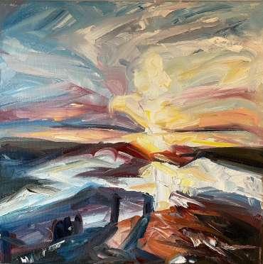 Thumbnail image of 34 | Joe Gimapalma | Cornish Sunset - LSA Annual Exhibition 2021 | Catalogue D - L