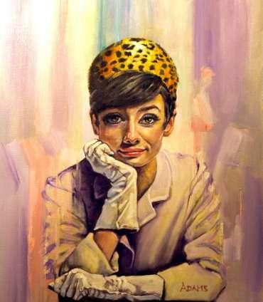 Thumbnail image of 01 | Kelvin Adams | Audrey Hepburn - LSA Annual Exhibition 2021 | Catalogue A - C