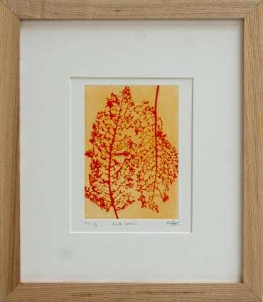 Thumbnail image of 68 | Mita Solanky | Dock Leaves (Orange) - LSA Annual Exhibition 2021 | Catalogue S - Z