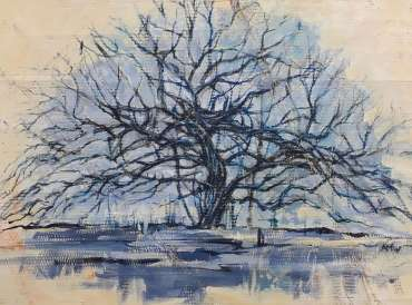 Thumbnail image of Alan Willey, Tree Study (after Mondrian) - Inspired | March