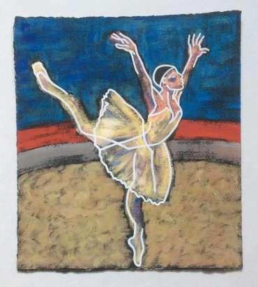 Thumbnail image of Phil Redford, Petrushka - Study, Ballerina, - Inspired | March