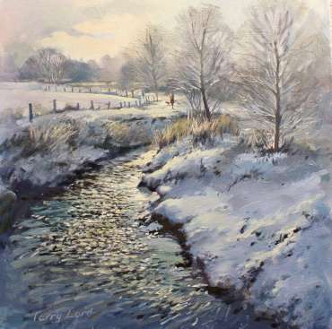 Thumbnail image of Terry Lord, River Sence, Winter, oil, - Inspired | March