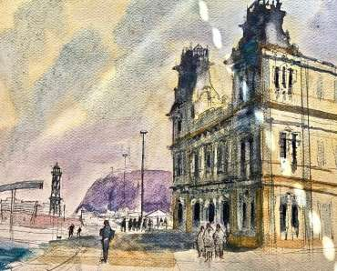 Thumbnail image of Tony O'Dwyer, Barcelona waterfront - Inspired | March