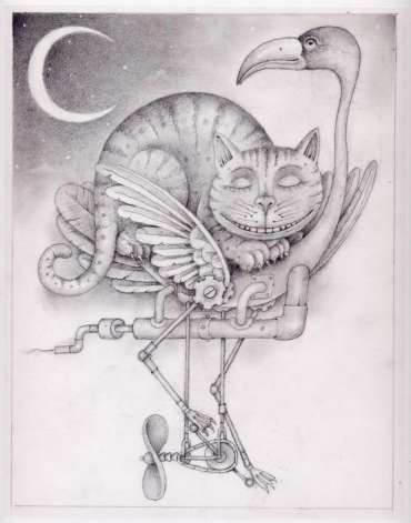 Thumbnail image of Wayne Anderson, The Cheshire Cat - Inspired | March