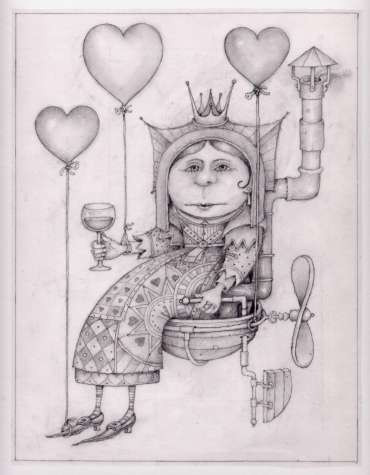 Thumbnail image of Wayne Anderson, The Queen of Hearts - Inspired | March