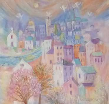 Thumbnail image of Ann C Wignall, Spring in the City - Reawakening