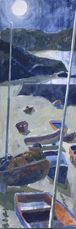 Thumbnail image of Margaret Chapman, Longing for the seaside - Reawakening