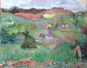 Thumbnail image of Nanette Whiteway, Powys Landscape - Reawakening
