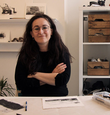 Emma Fitzpatrick - photograph of the artist