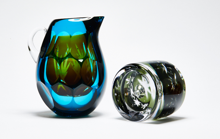 Graeme Hawes - glass for Modern Traditions exhibition