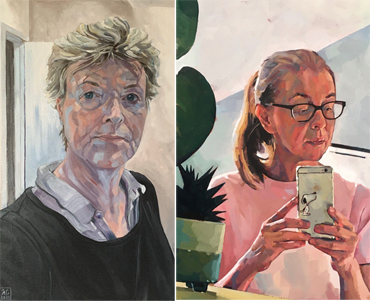 Introduction image for TV | Two LSA Artists on Sky Arts Portrait Artist of the Year 2021