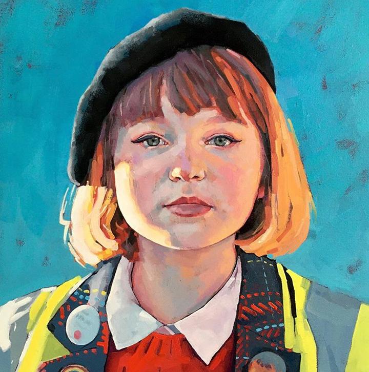 Jane French, portrait