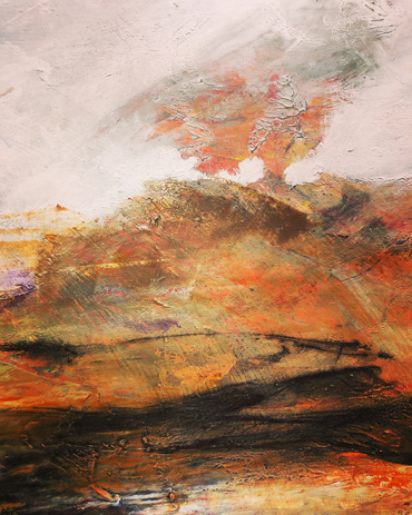 Jo Sheppard - cold wax and oil paint