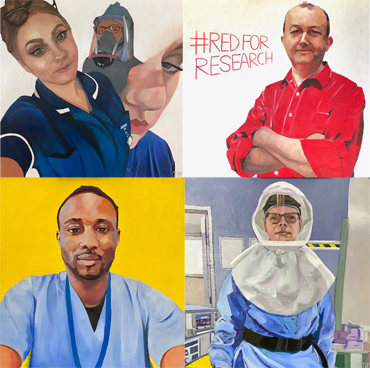 Introduction image for Exhibition | Portraits for NHS Heroes | Lisa Timmerman