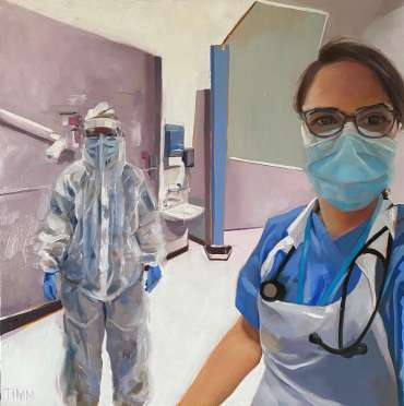 Thumbnail image of Lisa Timmerman, 'GP Paula' - Portraits for NHS Heroes | Lisa Timmerman