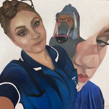 Thumbnail image of Lisa Timmerman, 'Ellen' - Portraits for NHS Heroes | Lisa Timmerman