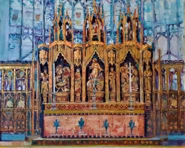 Thumbnail image of Rita Sadler, Reredos, Gloucester Cathedral - Pilgrimages