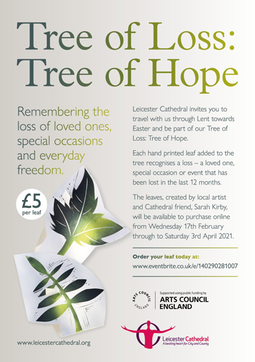 Tree of Loss, Tree of Hope poster