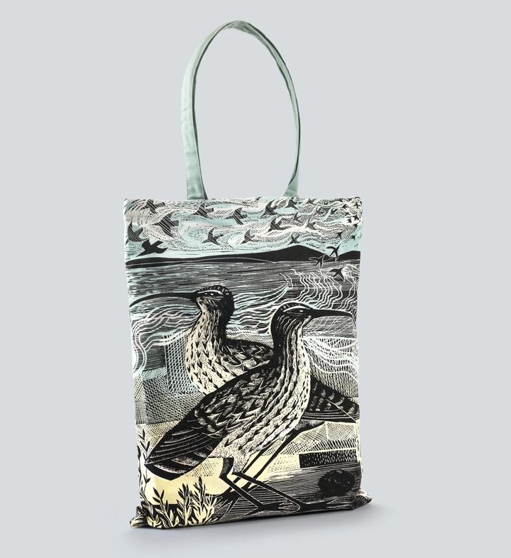Angela Harding, Curlews tote bag