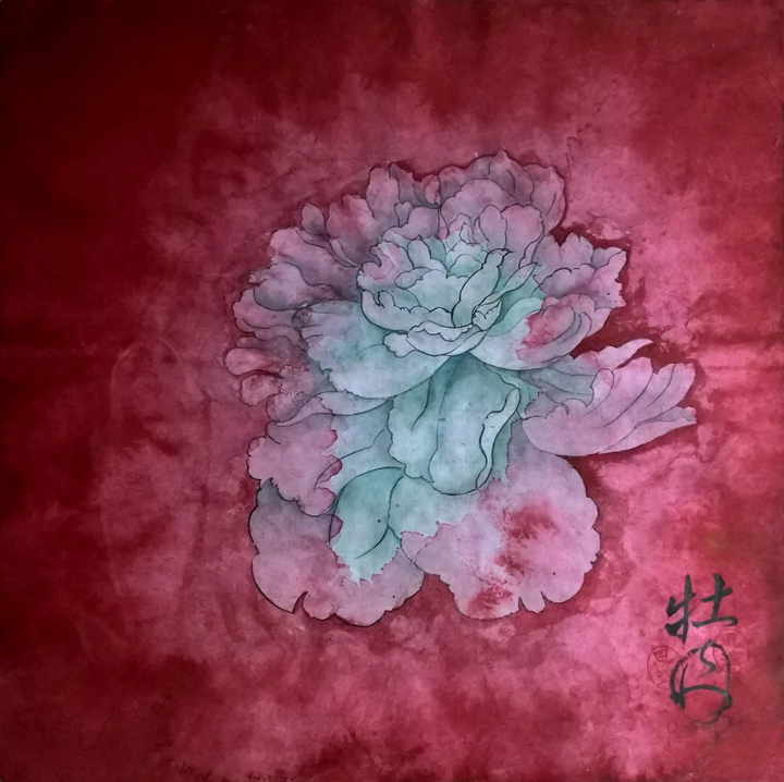 Siyuan Ren - The Peony Girl - Peony Red