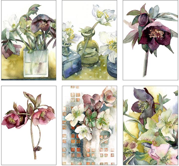 Vivienne Cawson - card collection