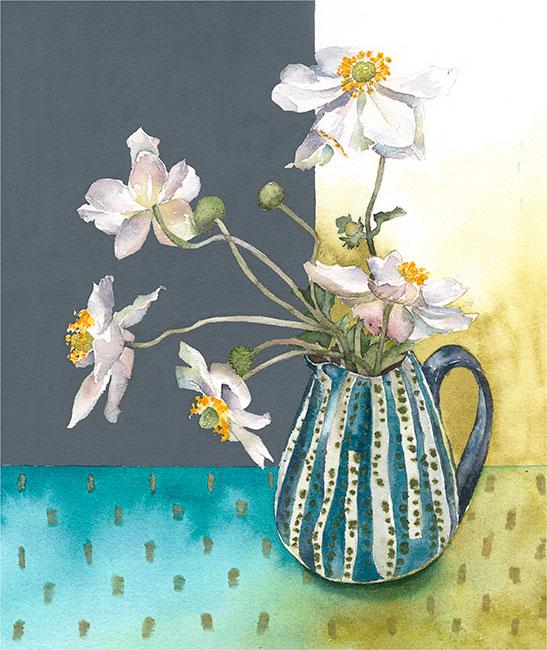 Vivienne Cawson, Flowers from my Garden 3