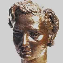 D Charles Eames - sculpture of Rhodda