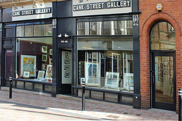 Cank Street Gallery exterior