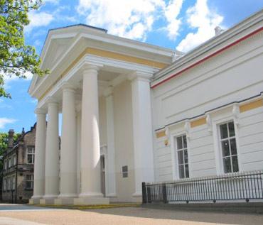 Front of New Walk Museum & Art Gallery