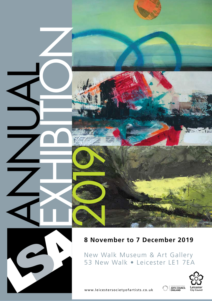 LSA Annual Exhibition poster
