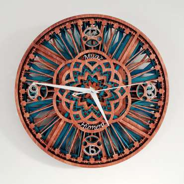 Quadrant Clock by Aaqib Mohamad Anvarmia