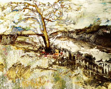 Thumbnail image of Tree by the Weir by Alan Hopwood