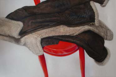 Thumbnail image of Red Chair by Andrew Jackson