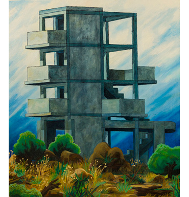 Thumbnail image of Greek Structure by Andrew Sales