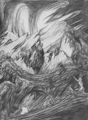 Thumbnail image of Study for 'Persephone' by Andrew Sales