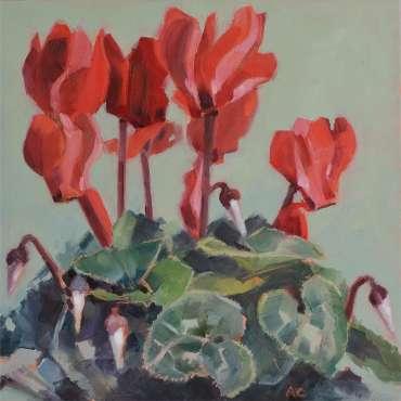 Thumbnail image of Cyclamen by Angela Chorley