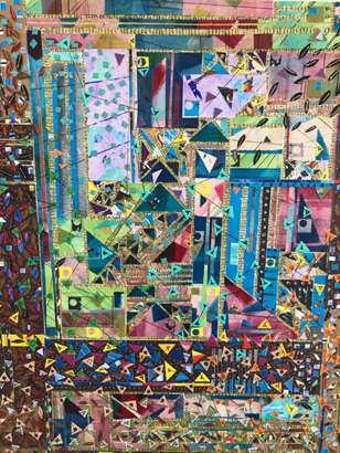 Thumbnail image of Tapestry of Triangles by Annie O'Connor