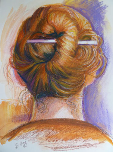 Hair Up by Barbara Agg