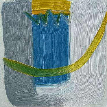 Gorse and Blue by Catherine Headley