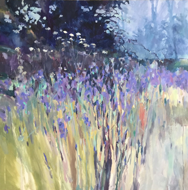 Wild Iris Field by Christopher Bent