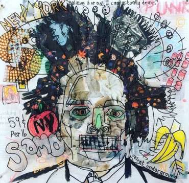 Basking in Basquiat by Danielle Vaughan